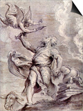 The Sacrifice of Abraham Poster by Peter Paul Rubens