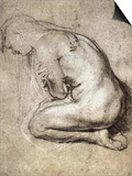 Study of Mary Magdalene Poster by Peter Paul Rubens