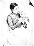 The Parrot Prints by Mary Cassatt