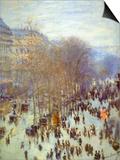 Boulevard Capucines Prints by Claude Monet