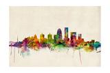 Louisville Kentucky City Skyline Photographic Print by Michael Tompsett