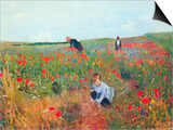 Poppy in the Field Posters by Mary Cassatt