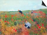 Poppy in the Field Posters by Mary Cassatt