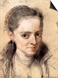 Portrait of Susanna Fourment Posters by Peter Paul Rubens