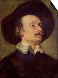 Portrait of a Man Art by Sir Anthony Van Dyck