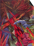 Animal Fates Prints by Franz Marc