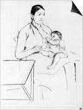Nursing Art by Mary Cassatt