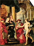 Medici Treaty of Angoulême Posters by Peter Paul Rubens