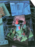 Still Life and Urban Landscape (Place Ravignan) Posters by Juan Gris