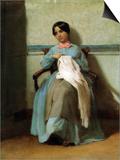 A Portrait of Lonie Bouguereau Prints by William Adolphe Bouguereau