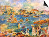 At the Beach of Guernesey Posters by Alfred Sisley