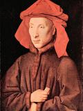 Portrait of Giovanni Arnolfini Posters by Jan Van Eyck