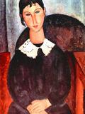 Elvira Prints by Amedeo Modigliani