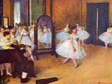 The Dance Hall Art by Edgar Degas