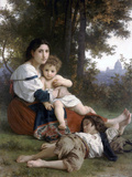 Rest Prints by William Adolphe Bouguereau