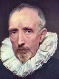 Portrait of Cornelius Van Der Geest Poster von Anthony Van Dyck