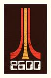 2600 (Atari Tribute) Serigrafi af Mike Klay