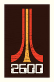 2600 (Atari Tribute) Serigraph by Mike Klay