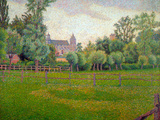 Church at Gisors Poster par Camille Pissarro