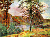 Landscape Poster by Armand Guillaumin