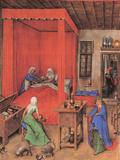 Birth of the Baptist Posters by Jan Van Eyck