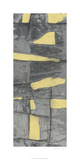 Lemon on Grey III Premium Giclee Print by Jennifer Goldberger