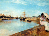 The Port of Lorient Posters by Berthe Morisot