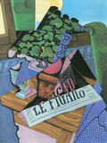 Still Life with Geraniums Prints by Juan Gris