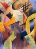 Small Composition I Prints by Franz Marc