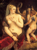 Venus in Front of the Mirror Art by  Titian