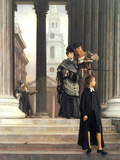 Visitors in London Posters by James Tissot