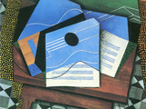 Table with Guitar Prints by Juan Gris