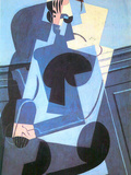 Portrait of Madame Josette Gris Prints by Juan Gris