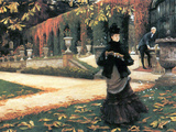 The Letter Came in Handy Print by James Tissot