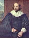 Portrait of Quintijn Simons Poster von Anthony Van Dyck