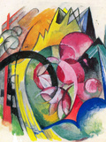 Small Composition II Posters by Franz Marc