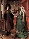 Arnolfini Wedding Art by  Jan van Eyck