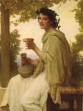 Bacchante Posters by William Adolphe Bouguereau