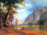 Yosemite Valley 2 Prints by Albert Bierstadt