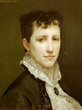 Portrait de Mademoiselle Elizabeth Gardner Posters by William Adolphe Bouguereau