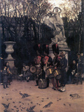 The Return March in the Tuileries Prints by James Tissot