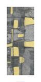 Lemon on Grey I Premium Giclee Print by Jennifer Goldberger