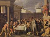 Les Noces de Cana 1633 Posters by Pedro Orrente