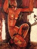 Caryatid, 1911-12 Posters by Amedeo Modigliani