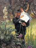 The Widower Poster by James Tissot