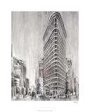 Art Deco Cityscape II Premium Giclee Print by Ethan Harper