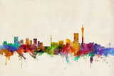 Johannesburg South Africa Skyline Photographic Print by Michael Tompsett
