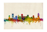 Nashville Tennessee Skyline Photographic Print by Michael Tompsett
