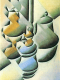 Still Life with Oil Lamp Posters by Juan Gris