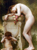 Elegy Prints by William Adolphe Bouguereau